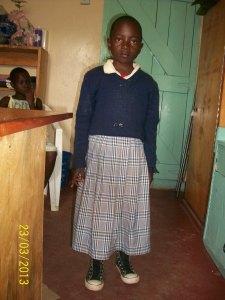 Doreen Kahai Wafula, DOB 2007