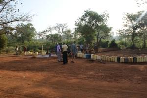 Village hand pump