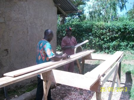 Preparing the fascia boards