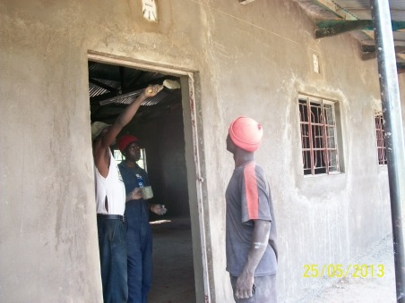 Door frame finishing