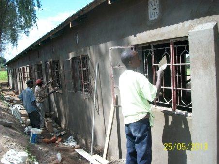 Window frame finishing
