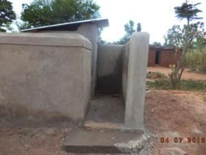 New latrine and bath house for the girls
