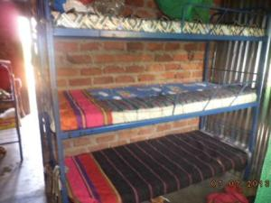 New Triple-decker beds and bedding