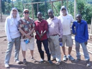 Dr. Randall, Greg, Pastor Paul, Pastor Moses, Me, Pastor Chua Moses