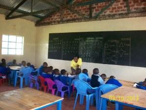 Nursery Class kids
