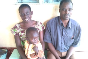 Newest Teacher, Isaac and his family.