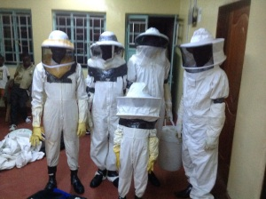 Honey theft team included 3 boys.