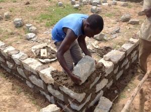 Foundation stones.