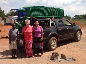 Kathy and her church purchased 100 more plastic chairs for needed capacity for the church.