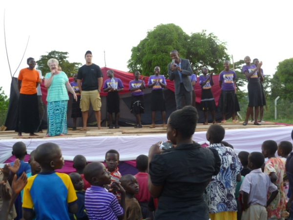 3 day crusade held on the grounds of SOH reached several hundreds of people in the community.